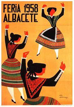 Cartel Feria Albacete 1958