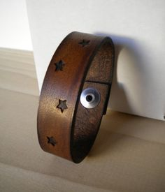 Grimm's Leather Bracelet. Tons of patterns and color options. $20
