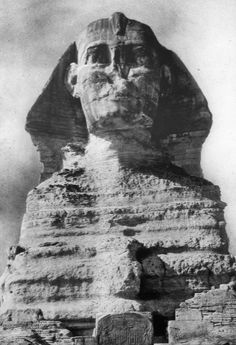 Egyptian - Old Kingdom. Great Sphinx, Gizeh, 4th Dynasty