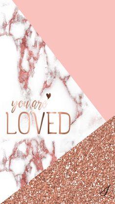 Marbled and rose gold wallpaper - Lindsay Scherger - Handy hintergrund - Tumblr Wallpaper, Screen Wallpaper, Cool Wallpaper, Trendy Wallpaper, Fashion Wallpaper, Laptop Wallpaper, Mobile Wallpaper, Marble Iphone Wallpaper, Rose Gold Wallpaper