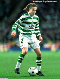 Henrik Larsson - Celtic His team and one of his favourite players