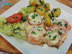 Gouda, Eggs, Meat, Chicken, Breakfast, Recipes, Diy, Chicken Cutlet Recipes, Chef Recipes