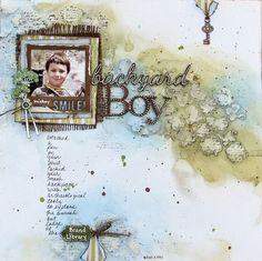 Backyard Boy (The Color Room, Palette #161) - Scrapbook.com