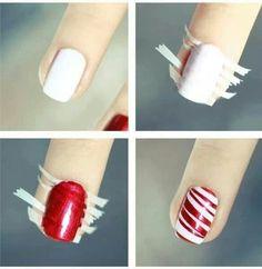 Great nail painting idea