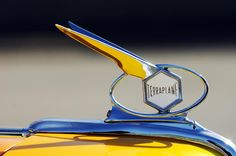 1934 Terraplane Hood Ornament Photograph by Jill Reger