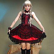 Sleeveless Knee-length Cotton Punk Lolita Dre... – USD $ 79.99