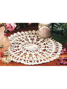 Crochet Doilies - Vintage Doily Crochet Patterns - Hairpin Lace Doily 1