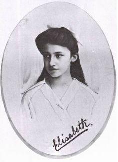 La princesse Elisabeth de Luxembourg (1901-1950), fille du grand-duc Guillaume IV et de l'infante Marie-Anne du Portugal. Epouse du prince Ludwig von Thurn und Taxis