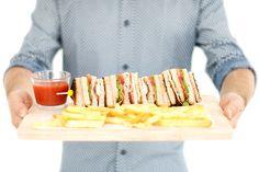 Sandwich VIPS Club Jack Daniels, Bagels, Croissants, Sandwiches, Food Humor, Tostadas, Tapas, Finger Foods, Sweet Recipes
