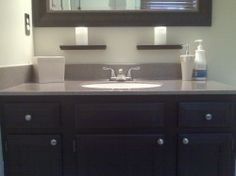 Refinishing cultured marble countertops