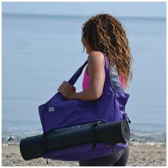 Amethyst Yoga Totes Bag
