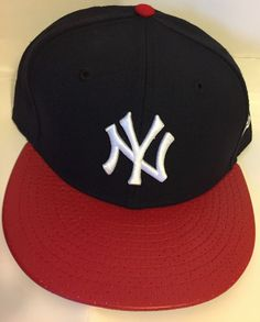 official photos 8c82f 61710 New Era New York Yankees GAME 59Fifty Fitted Hat (Navy red) MLB Cap