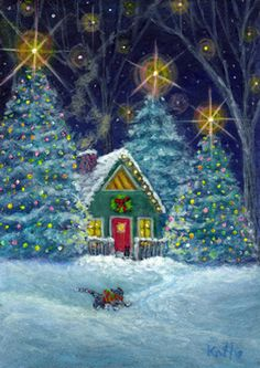 """""""The Christmas Visitor"""" by Kathe Soave : :)"""