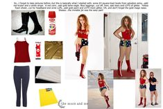 The Moon and Me: DIY Wonder Woman Costume