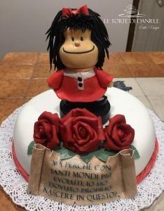 Torta di compleanno Mafalda inviata da Le torte di Daniele