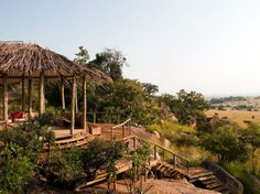 Lamai Serengeti  Serengeti National Park, Tanzania  A luxury lodge with 12 chalets on a boulder-strewn hilltop—a prime location for observing the annual wildebeest migration.