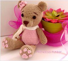 A personal favourite from my Etsy shop https://www.etsy.com/listing/525127368/crochet-bear-amigurumi-crochet