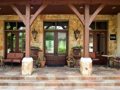 ideas about Hill Country Homes on Pinterest   Country Homes    One of bryansmithhomes Texas Hill Country front porches