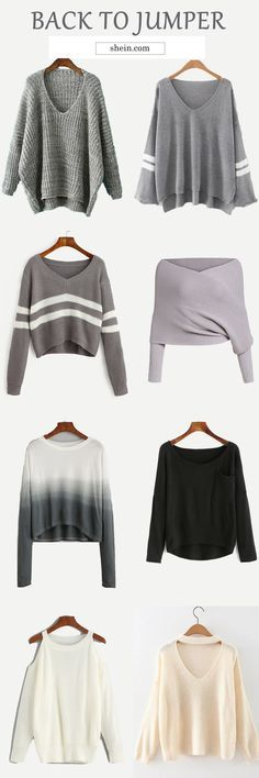 Get five fall styles in one week with warm sweaters at shein.com. up to 70% off!