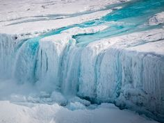"""A surprisingly subtle force may have broken off one of the largest icebergs ever recorded - An iceberg the size of Delaware broke off of an Antarctic ice shelf between July 10 and July 12.  Scientists aren't sure exactly what caused the crack that birthed iceberg A68, as it's called.  One explanation could be summer surface melt water that acted like a wedge on small cracks, eventually opening them into a large rift.  The Roman poet Ovid once quipped that """"dripping water hollows out stone…"""