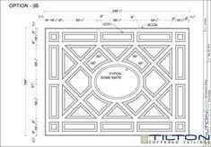 Bespoke Coffered Ceiling Design 19