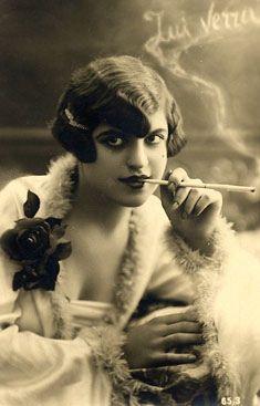 flapper smoking by DALAIWMN, via Flickr