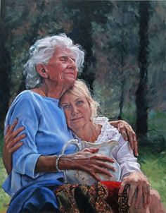 Mom is much younger looking than this one, but I can just feel the love flowing from this picture and I love what it represents!