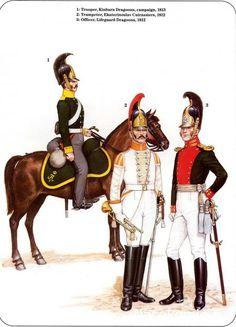 Dragoons & Cuirassier Trumpeter