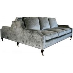 Double Sided Sofa windsor smith aristocratic double sided sofa | presidio heights