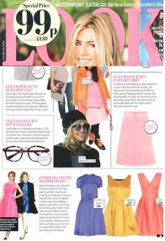 Taylor Morris in LOOK Magazine and seen on Suki Waterhouse