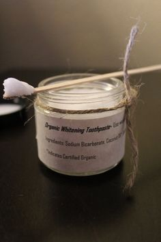 All Natural Organic Whitening Toothpaste Best Whitening Toothpaste, Organic Toothpaste, Oral Health, Dental Health, Receding Gums, Sodium Bicarbonate, Teeth Care, Organic Coconut Oil, Oral Hygiene