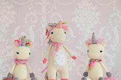 Twinkle Toes das Einhorn-Häkelmuster #Amigurumi #CrochetPattern #Unicorn