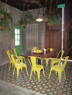 Moroccan & Encaustic Cement Tiles By Jatana Interiors The Grounds Of Alexandria, Outdoor Tables, Outdoor Decor, Encaustic Tile, Colour Schemes, Wall Tiles, Dining Area, Outdoor Furniture Sets, Indoor