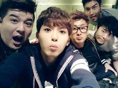 Shindong, Ryeowook, Eunhyuk, Donghae, Siwon