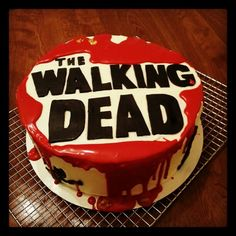 deco gateau walking dead