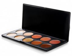 BH Cosmetics- My sister is a make-up artist and she has a palette like this one. She used it on me a few times and I loved that you can combine colors to get the perfect fit!