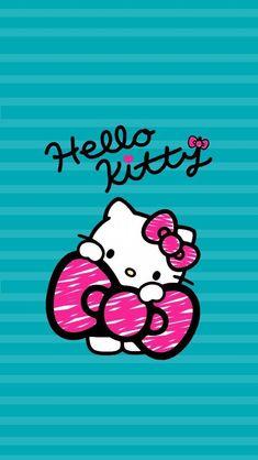 Birthday wallpaper phone hello kitty 66 Ideas for 2019 Sanrio Hello Kitty, Hello Kitty Fotos, Hello Kitty Art, Hello Kitty Themes, Hello Kitty Pictures, Hello Kitty Birthday, Hello Kitty Backgrounds, Hello Kitty Wallpaper, Little Twin Stars
