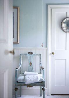 pale blue chair  #chair