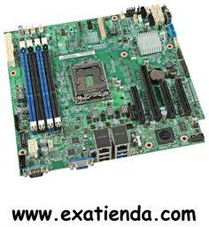 Ya disponible Placa Intel s 1150 xeon s1200v3rps   (por sólo 204.95 € IVA incluído):   -Socket:LGA1150 -CPU soportadas:Procesadores Intel XEON E3/V3 -Chipset:C226 -Formato:uATX -Memoria:4 x DDR3 ECC UDIMM 1333/1600 MT/s(max. 32GB) -Grafica:Integrada -Slots: 16 PCI Express lanes 1 x PCIe x8 Gen 3 1 x PCIe x8 Gen 2.x 1 x PCIe x4 Gen 2.x 1 x PCIe x1 Gen 2.x 1 x connector for Intel I/O Expansion Module -SATA:6 x SATA -Tarjeta red:DUAL GIGABIT -USB:4x USB 3.0and2.0 -Audio: ---