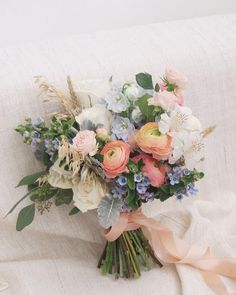 Hand Tied Bridal Bouquet Inspiration