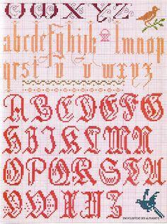♥ Korsstygns-Arkivet ♥: ALFABETET Pt 2