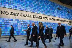 Donald Trump visits 9/11 memorial #Trump2016 - http://conservativeread.com/donald-trump-visits-911-memorial-trump2016/