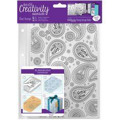 Creativity Essentials A5 Clear Background Stamp
