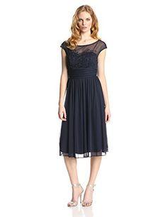 Jessica Howard Women's Cap Sleeve Beaded Illusion Ruched Waist Dress, Navy, 12 Jessica Howard http://www.amazon.com/dp/B00JL5MUGW/ref=cm_sw_r_pi_dp_JgPHub04KRJG3