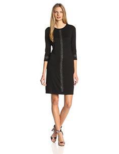 4dd73c6d Karen Kane Women's Audrey Studded Dress, Black, X-Small at Amazon Women's  Clothing store: