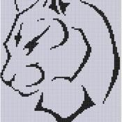 Cougar Cross Stitch Pattern - via @Craftsy