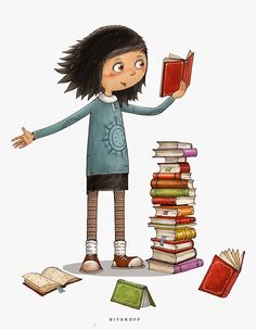 Reading Art, I Love Reading, Kids Reading, I Love Books, Books To Read, My Books, World Of Books, Book Images, Book Nooks