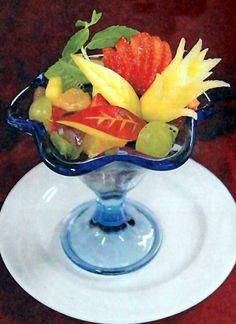 Fruit Dessert in a glass