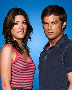 Dexter - as in Dexter Morgan and his sister. The most normal looking serial killer invented. Gripping!