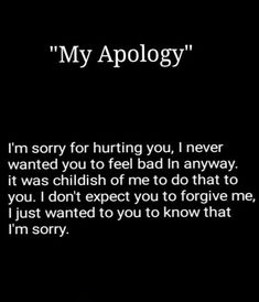 90 I'm Sorry Quotes, Sayings, Texts, Messages & Images to Apologize - I Am Sorry Quotes For Hurting You - Forgive Me Quotes, Apology Quotes For Him, Forgiveness Quotes, Hurt Quotes, Words Quotes, Mistake Quotes, Poem Quotes, Sayings, Qoutes